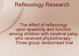Reflexology for children with cerebral palsy